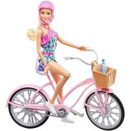 Barbie Paseo En Bicicleta Ftv96