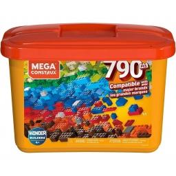 Megaconstrux Mega Caja De Construcción 790 Piezas Gjd24