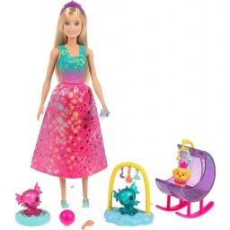 Barbie - Dreamtopia Muñeca Y Accesorios Gjk49-gjk51