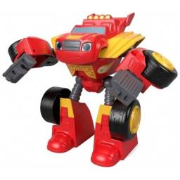 Fisher Price Blaze Robot Transformables Blaze  Ftb93-fpj40