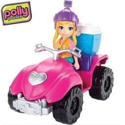 Polly Pocket! - Cuatriciclo De Aventuras Gdm13