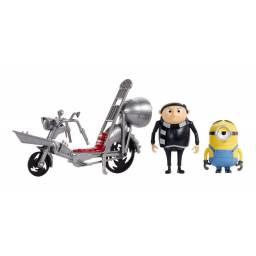 Minions - Gru Con Motocicleta Set De Aventuras Gmf14-gmf15