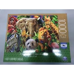 Juegos Clasicos -puzzle Adul. 1000 Piezas Anim. Niños 98240