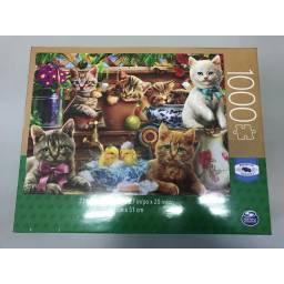 Juegos Clasicos -puzzle Adul. 1000 Piezas Gatitos 98240