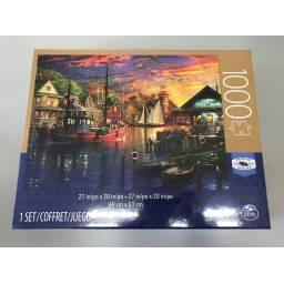 Juegos Clasicos -puzzle Adul 1000 Piezas Puesta De Sol 98240