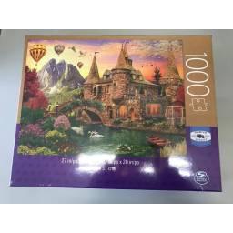 Juegos Clasicos - Puzzle Adultos 1000 Piezas Castillo 98240