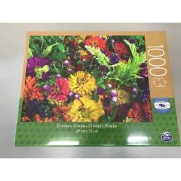 Juegos Clasicos - Puzzle Adultos 1000 Piezas Flores 98240