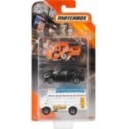 Matchbox - Vehículos Pack X 3 Surtidos C3713-gkr62
