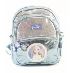 FROZEN - Mochila 30 cm Glitter Plata 59324