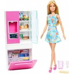 Barbie - Muñeca Y Muebles Dvx51-ghl84