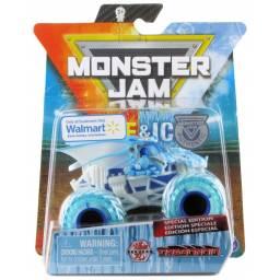 MONSTER JAM - Vehiculos 1:64 Fire &Walmart Dragonoid 58709