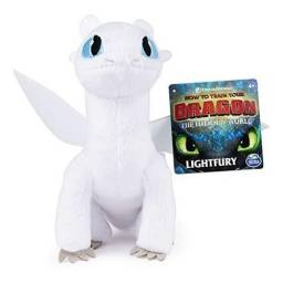 Dragons Peluche 66606 Lightfury Blanco