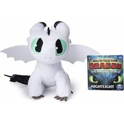 Dragons Peluche 66606 Nightlight Blanco