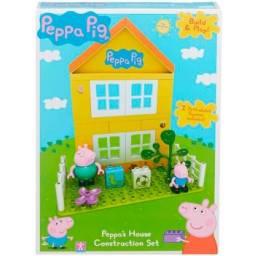 Peppa - Construcción Casa Con Figuras 6038
