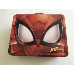 Spiderman - Estuche De Metal Rojo 707647