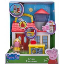 Peppa - Sets De Juego Pequeños Lugares 96580 Firehouse