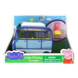 PEPPA - Vehículo con figura Little Holiday Camper 95705