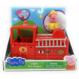 PEPPA - Vehículo con figura Little Fire Engine 95705