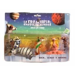 La Era Del Hielo - Figuras Buck Scrat y Brooke Cod. Ia5-003