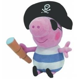 PEPPA - peluche 25 cm pirata George Pepe3