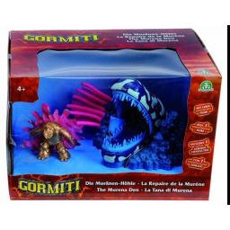 GORMITI - Mini playset + figura golden Serpiente 84019