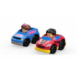 Fisher Price - Little People Wheelies Packx2 Suv y Coupe Drh01-dtl64