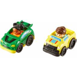 Fisher Price - Little People Wheelies Packx2 Pickup y Rally Drh01-drh04