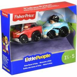 Fisher Price - Little People Wheelies Packx2 Dune Y Koby Drh01-fhb70