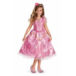 DISNEY PRINCESAS - Disfraz Aurora Deluxe 7 A 8 AÑOS 59223K