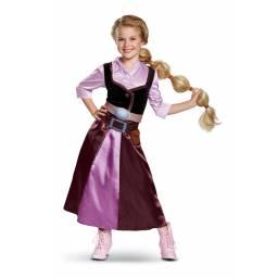 DISNEY PRINCESAS - Disfraz Clasico Rapunzel 7 A 8 AÑOS 66083K