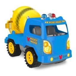 Mickey - Camión A Fricción  27092 Mezcladora AZul