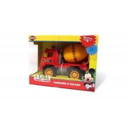 Mickey - Camión A Fricción  27092 Mezcladora Rojo
