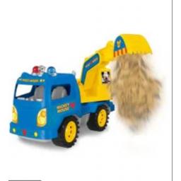 Mickey - Camión A Fricción  27092 Pala Azul
