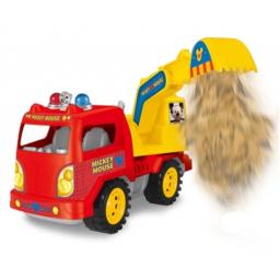 Mickey - Camión A Fricción  27092 Pala Rojo