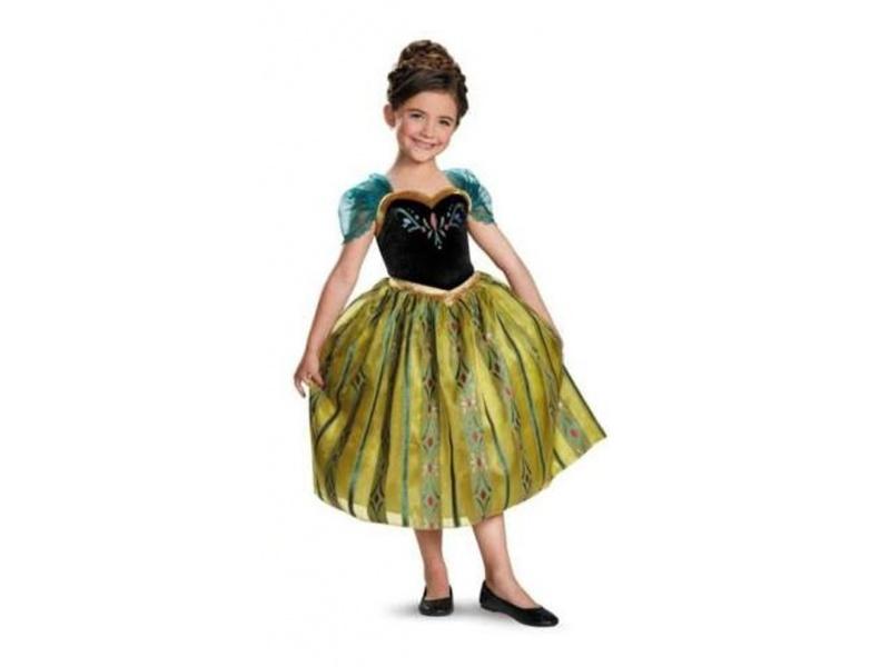 Frozen Disfraz Anna Coronación De Lujo 7-8 Años  76909K