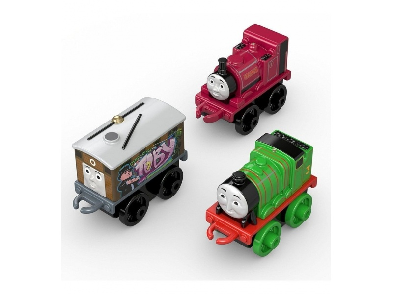 Fisher Price -Thomas & Friends Minis Packx 3 Chl60-dgw06