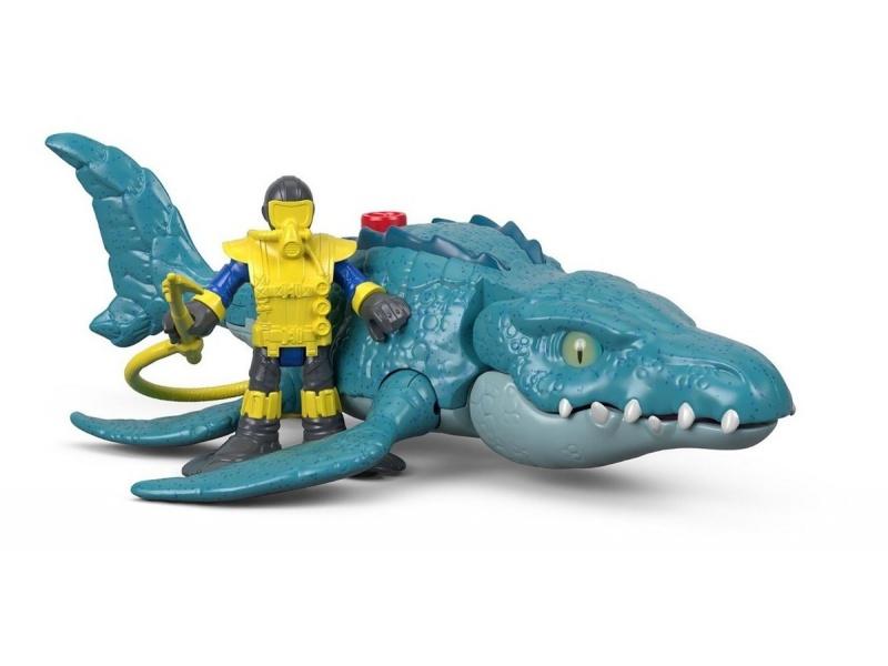 Fisher Price - Imaginext Jurassic World Vehículos Fmx88-fmx91