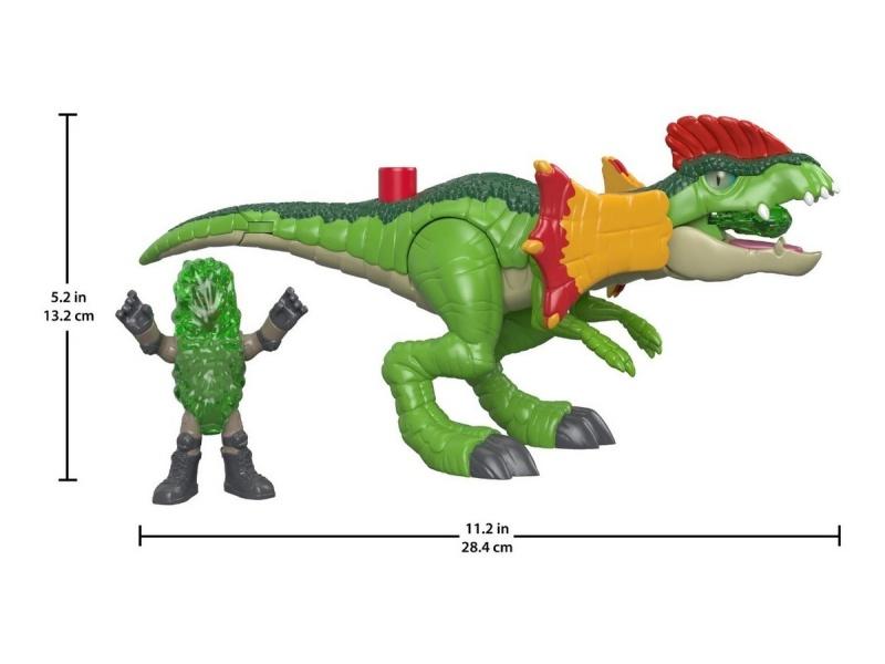 Fisher Price - Imaginext Jurassic World Vehículos Fmx88-fmx89