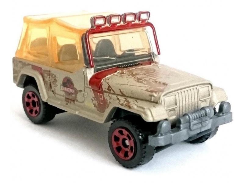 Matchbox - Jurassic World Vehículos Fmw90