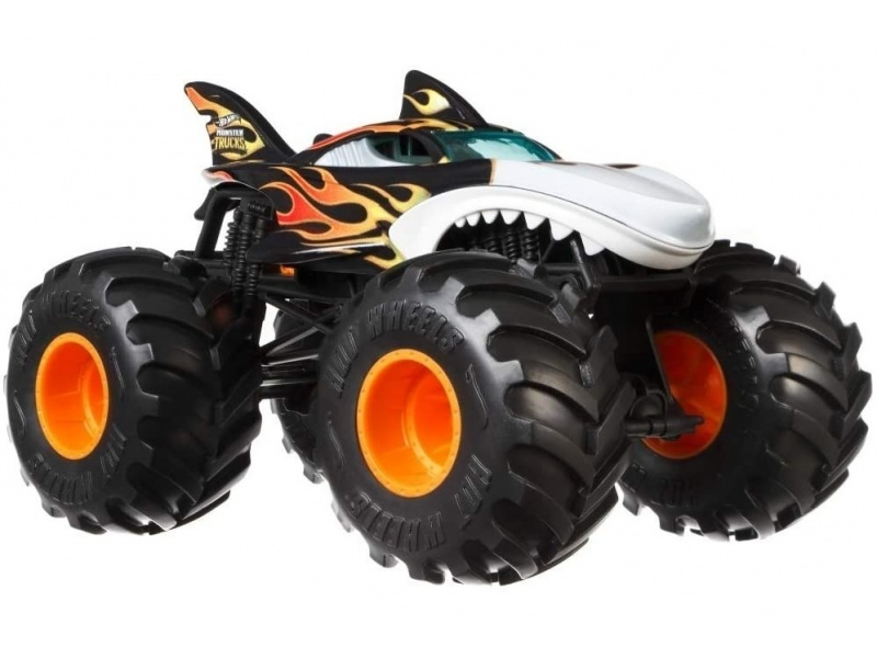 Hot Wheels - Monster Trucks Vehículos 1:24 Fyj83-gcx13