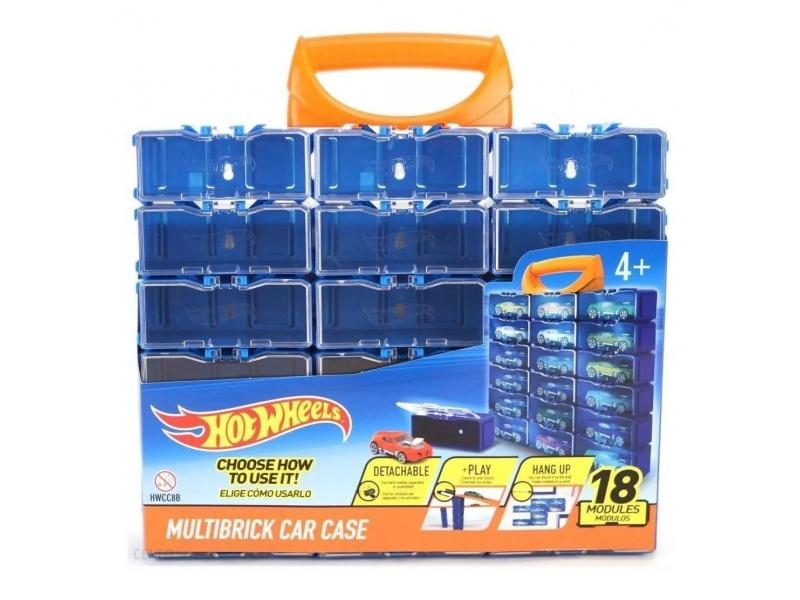 Hot Wheels - Porta Autitos (para 18 Unidades) Hwcc8b