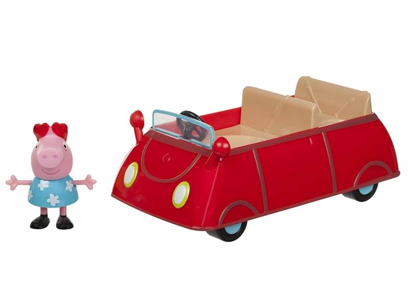 PEPPA - Vehículo con figura Little Red Car 95705